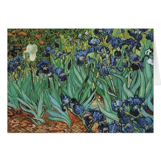 Irises  Vincent van Gogh Card