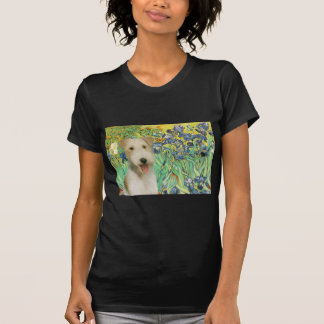 Irises - Wire Fox Terrier #1 T-Shirt