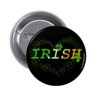 Irish 2 Inch Round Button