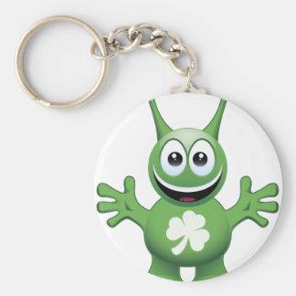 Irish Alien Keychain