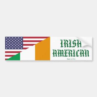 Irish - American Bumper Sticker