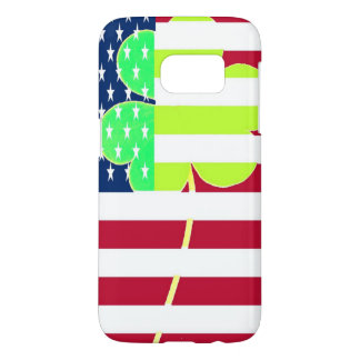 Irish American Flag Shamrock Clover St. Patrick Samsung Galaxy S7 Case