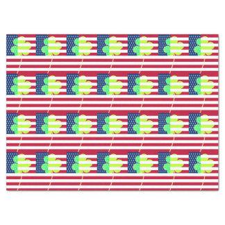 Irish American Flag Shamrock Clover St. Patrick Tissue Paper