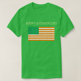 Irish American t-shirt (Shamrock green)