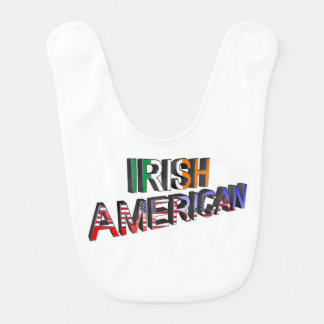 Irish-American Text for Baby-Bib Baby Bib