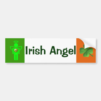 Irish Angel bumper sticker