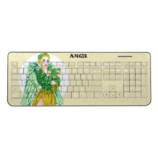 IRISH ANGEL Custom Wireless Keyboard