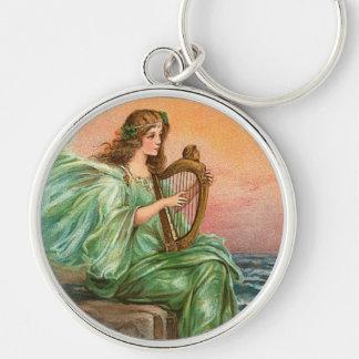Irish Angel Keychain