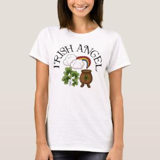Irish Angel Shamrocks Pot Of Gold T-Shirt