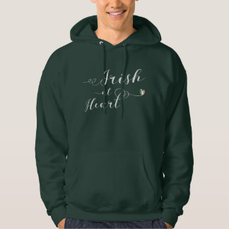 Irish At Heart Hoodie, Ireland Hoodie
