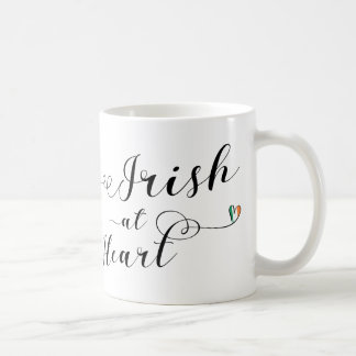 Irish At Heart Mug, Ireland Coffee Mug