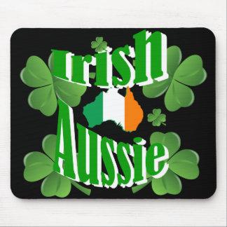 Irish aussie mouse pad