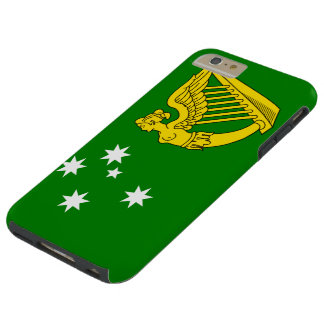 Irish Australian Flag Tough iPhone 6 Plus Case