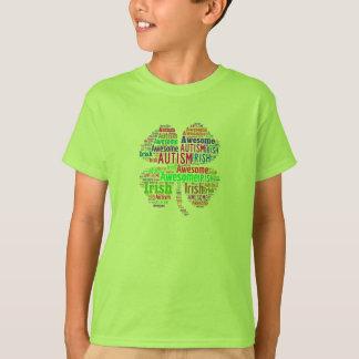 Irish Autism Awesome T-Shirt Children's