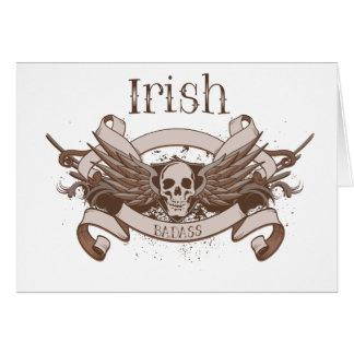 Irish Badass Card