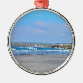 Irish beachs metal ornament
