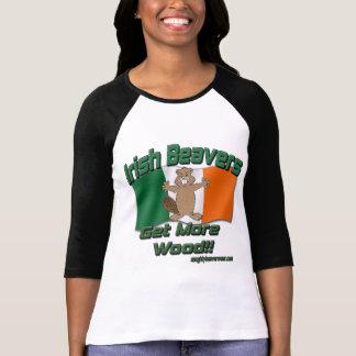 Irish Beavers Get More Wood T-Shirt