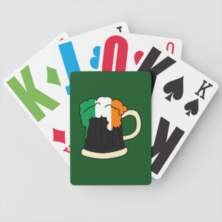 Irish Beer Bicycle Playing Cards