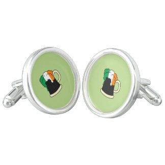Irish Beer Cufflinks