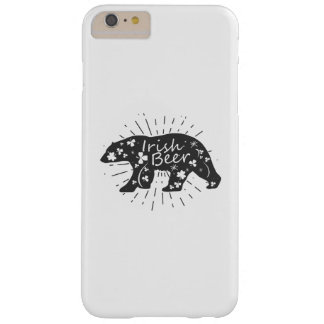 Irish Beer Drinking Funny St Patricks Day Barely There iPhone 6 Plus Case