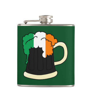 Irish Beer Hip Flask