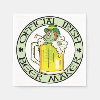 Irish Beer Maker Disposable Napkin