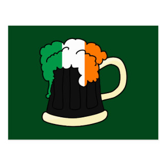 Irish Beer Postcard