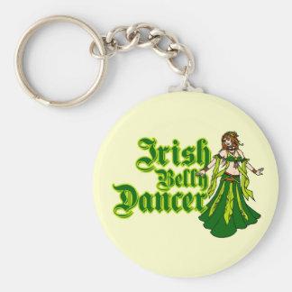 Irish Belly Dancer Keychain
