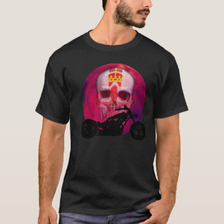 Irish Biker Skull T-Shirt