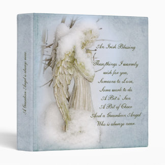 Irish Blessing 3 Ring Binder
