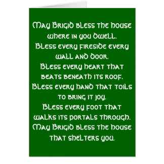 Irish Blessing 6 Card