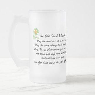 Irish Blessing Beer Mug