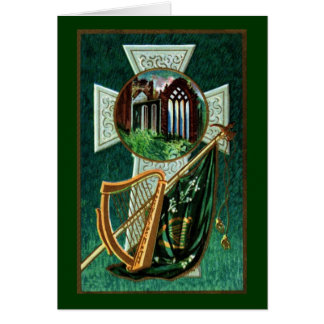 Irish Blessing Greeting Card