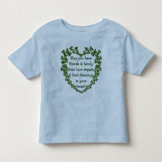 Irish blessing heart shirt