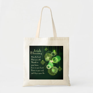 Irish Blessing, Lord Bless You Peace in Your Soul Tote Bag
