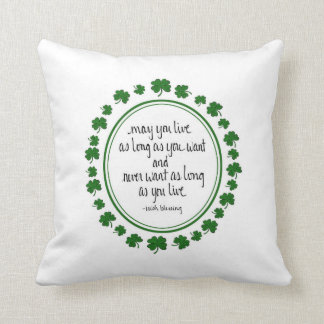 Irish Blessing Pillow