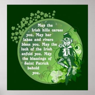 Irish Blessing Poster $25.00