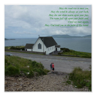 Irish Blessing Poster - County Kerry