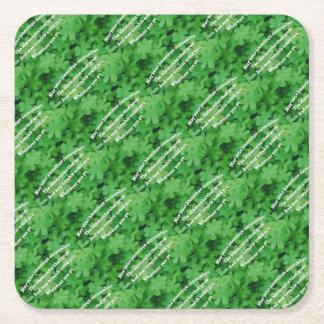 Irish Blessing Square Paper Coaster