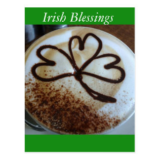 Irish Blessings Postcard