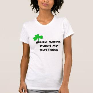IRISH BOYS PUSH MY BUTTONS T-Shirt