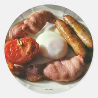 Irish Breakfast Sticker