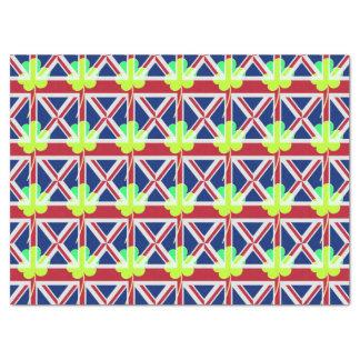 Irish British Flag Shamrock Clover St. Patrick UK Tissue Paper