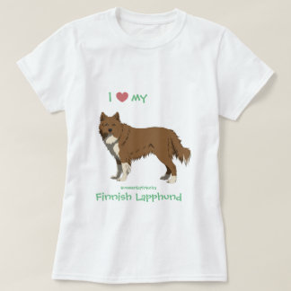 Irish brown Finnish Lapphund shirt - lapinkoira