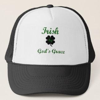 irish by God's Grace Trucker Hat