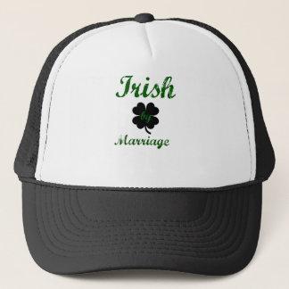 irish by marriage trucker hat