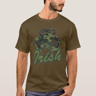 Irish Camo Shamrock T-Shirt