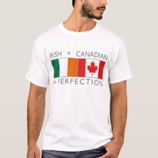 irish canadian flags T-Shirt