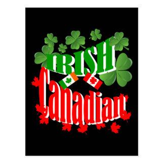 Irish Canadian Postcard