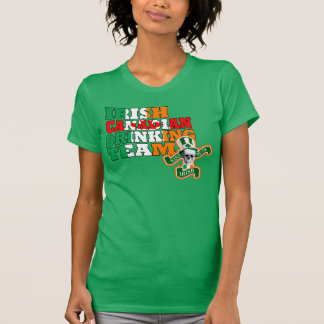 Irish Canadian St Patricks day T-Shirt